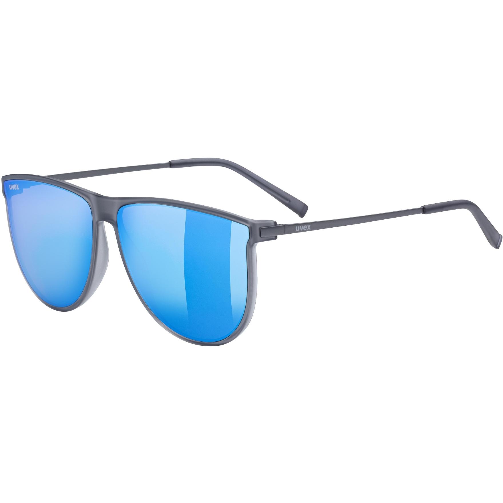 Bild von Uvex lgl 47 Brille - smoke mat/mirror blue