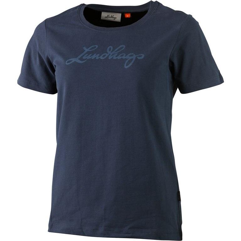 Lundhags Women's Tee - Deep Blue 472