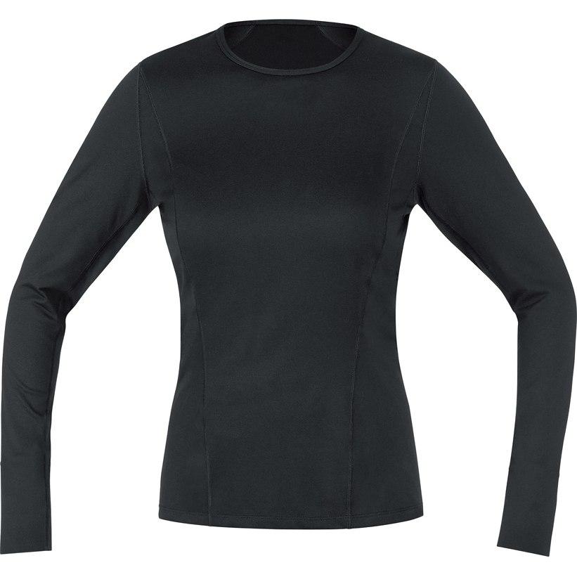 GORE Wear M Women Base Layer Long Sleeve Shirt - black 9900