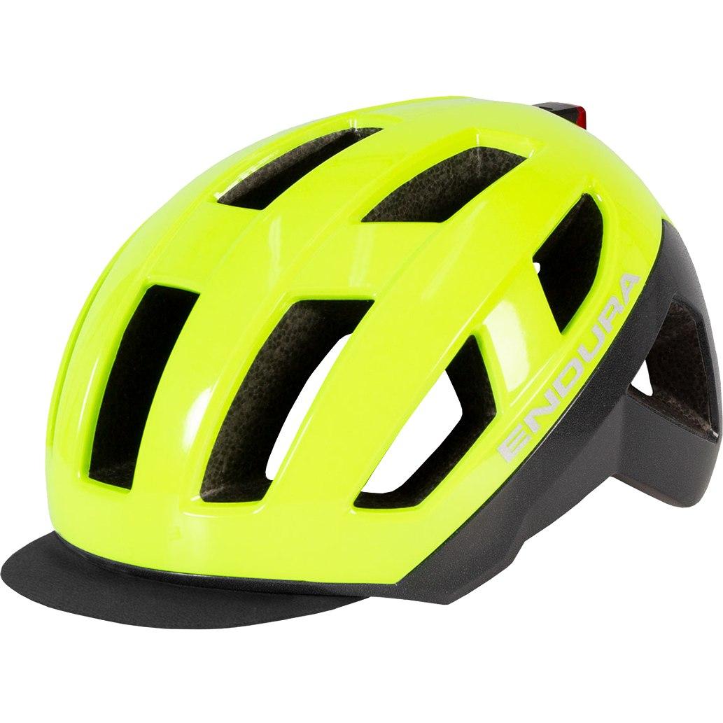Endura Urban Luminite Helmet - hi-viz yellow