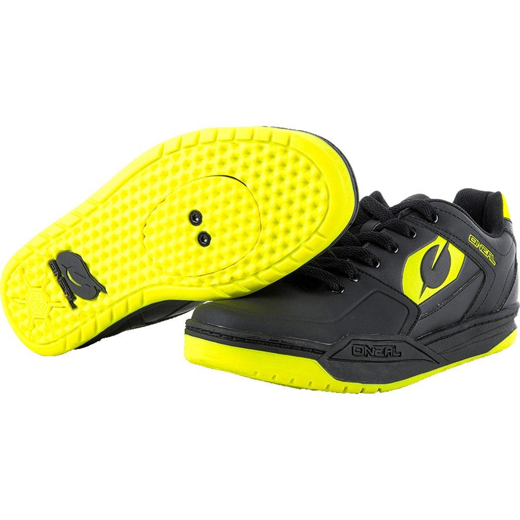 O'Neal Pinned SPD MTB Shoe - neon yellow