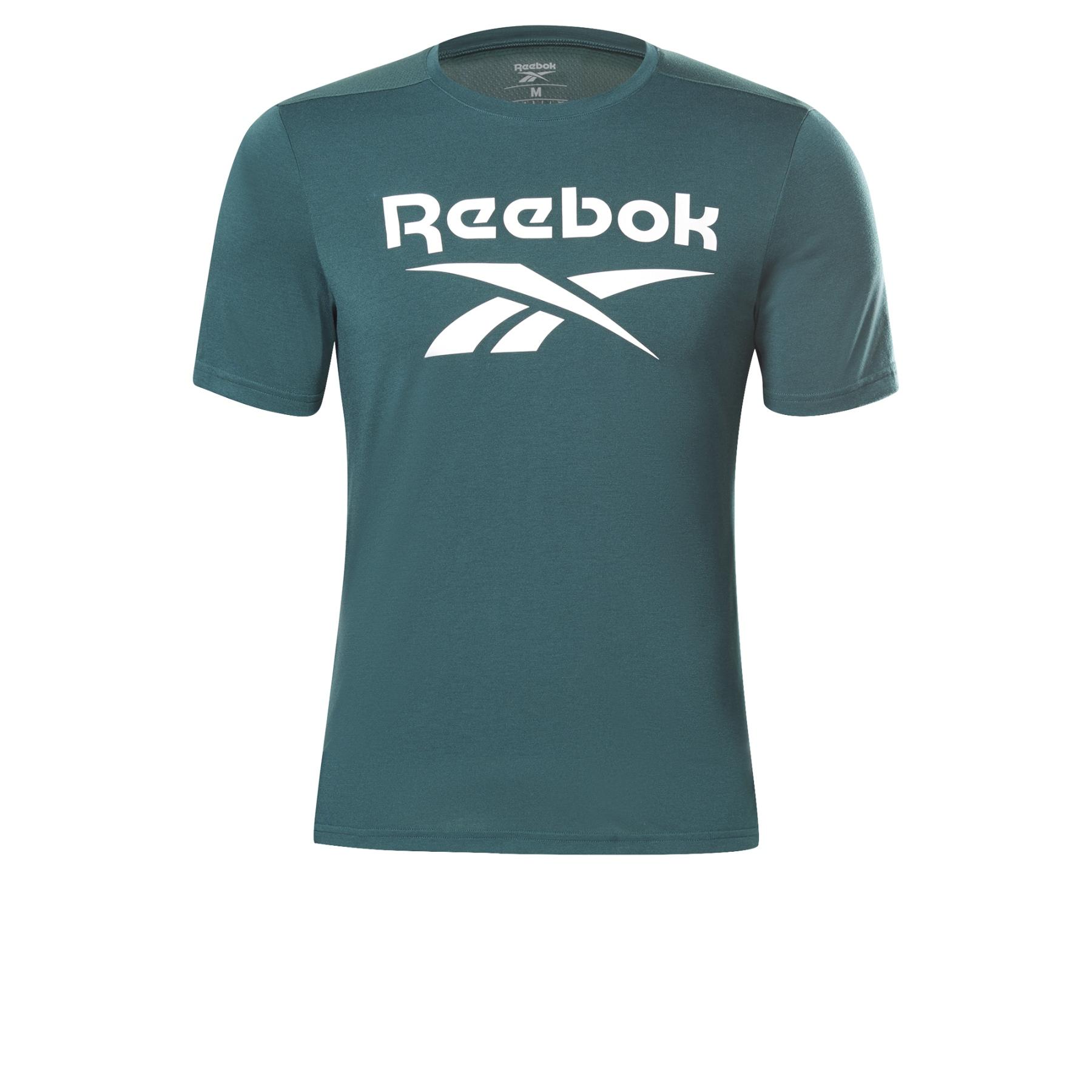 Reebok Workout Ready Supremium Graphic Camiseta - forest green GJ0676