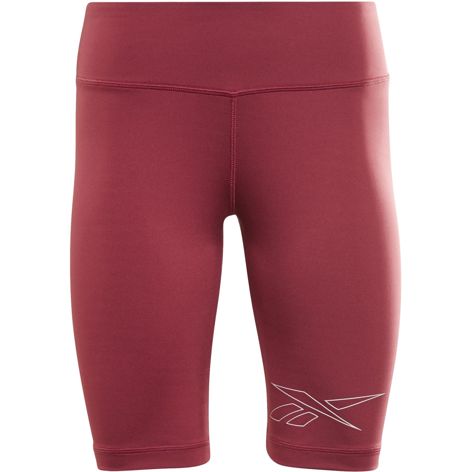 Reebok Piping Shorts for Women - punch berry