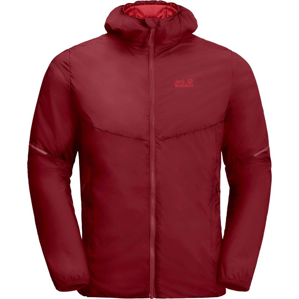 Jack Wolfskin Opouri Peak Jacket M - red maroon