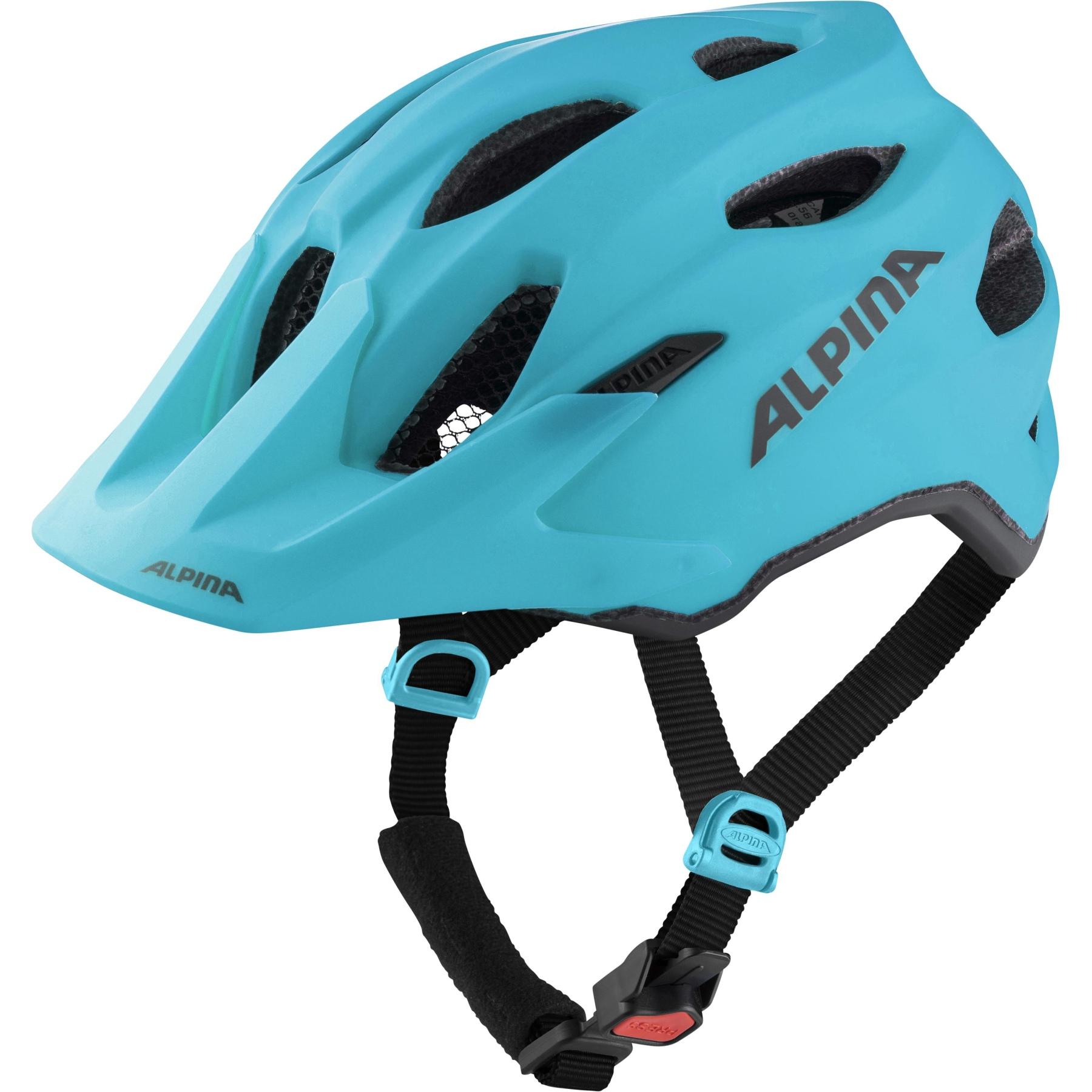 Alpina Carapax JR. Kids Helmet - petrol matt
