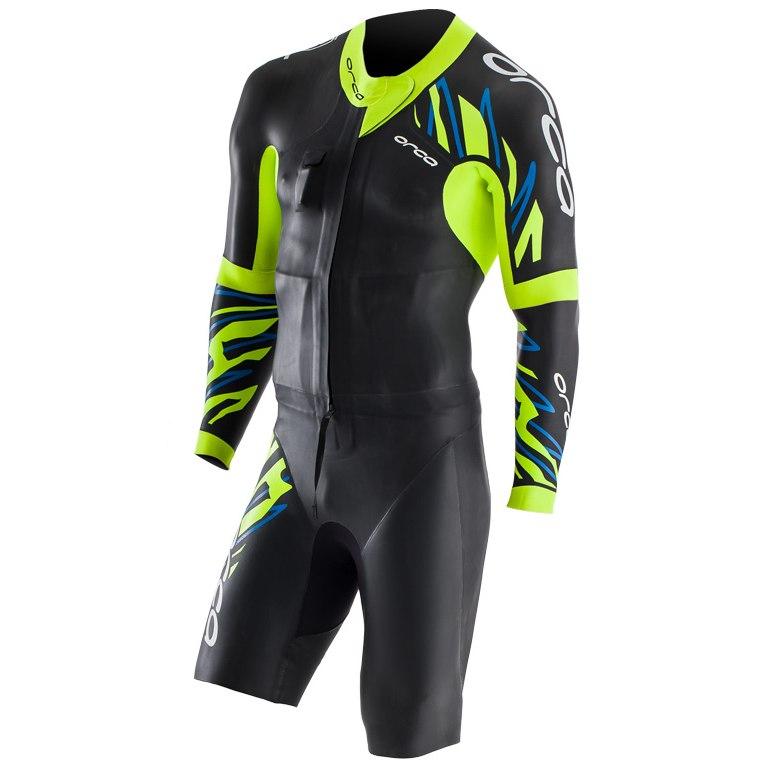Produktbild von Orca RS1 Swim-Run Wetsuit - schwarz/gelb