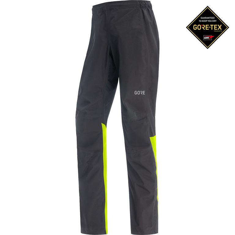 GORE Wear C3 GORE-TEX Paclite® Pants - black/neon yellow 9908