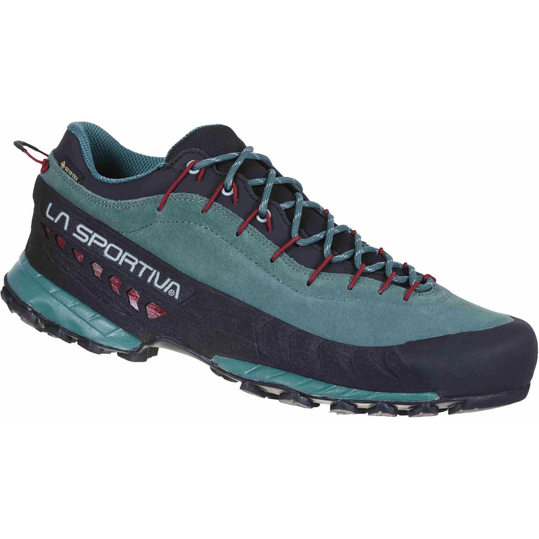 La Sportiva TX4 GTX Approach Shoes - Pine/Chili