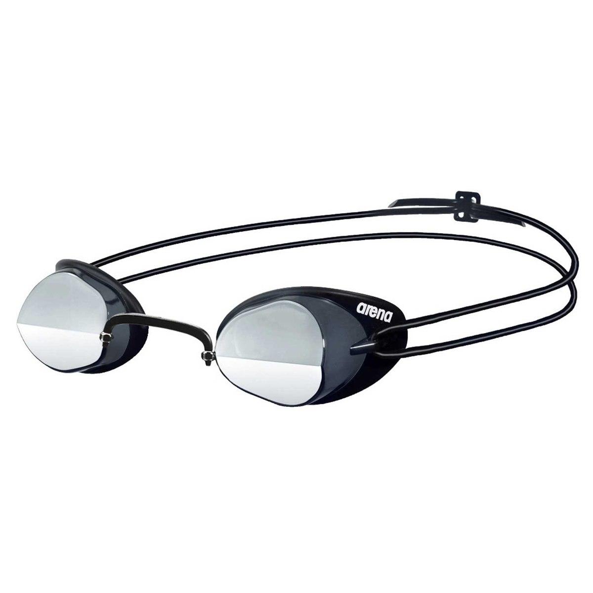 arena Swedix Mirror Smoke/Silver/Black Swimming Goggle