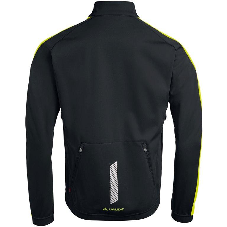 Image of Vaude Men's Posta Softshell Jacket IV Jacket - black/chute