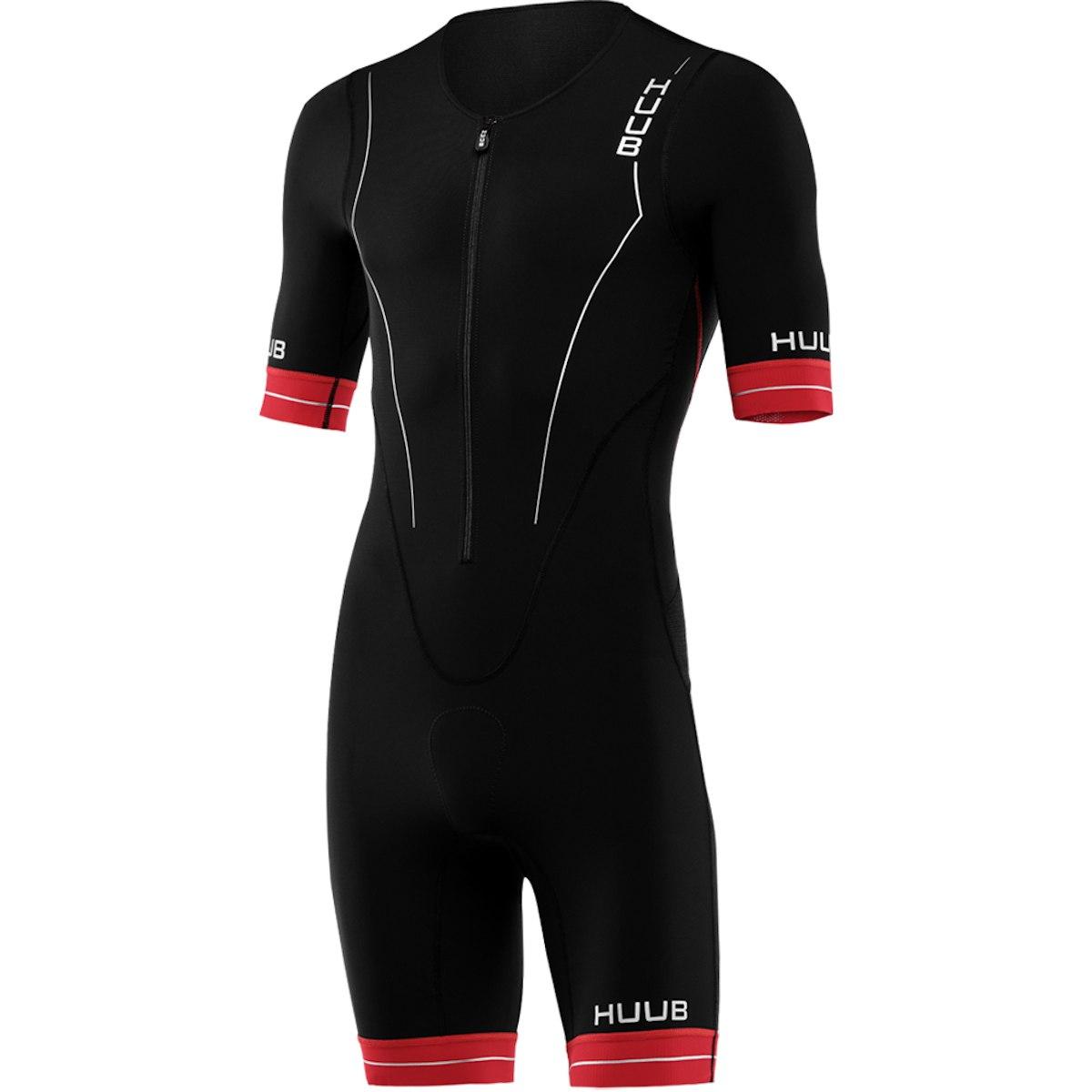 Bild von HUUB Design Race Long Course Herren Trisuit - schwarz/rot