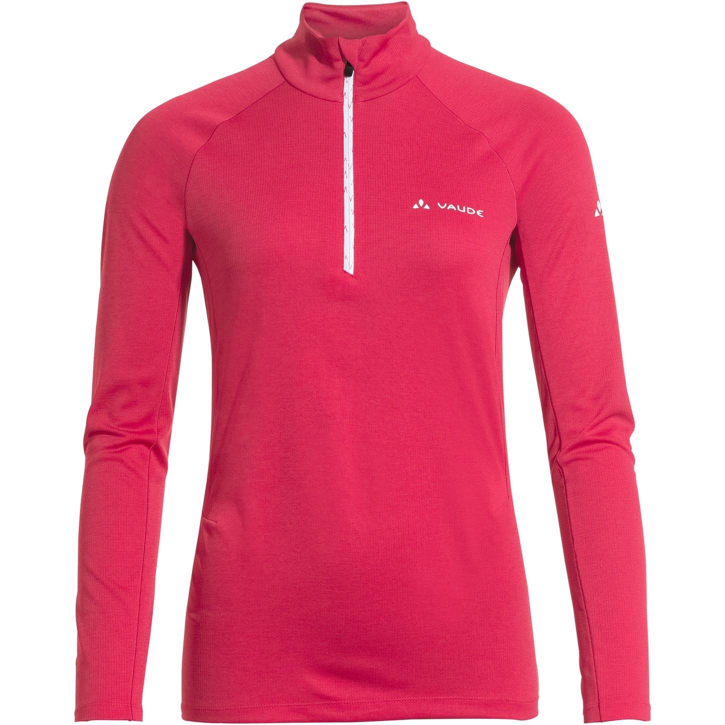 Vaude Women's Larice Light Shirt II - crimson red