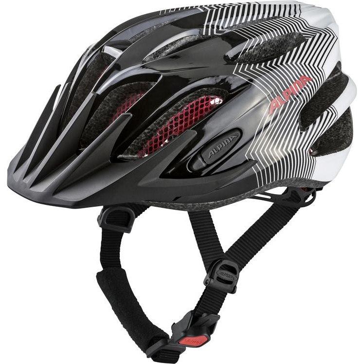 Alpina FB Junior 2.0 - Kids Helmet A9678 - black-white-red