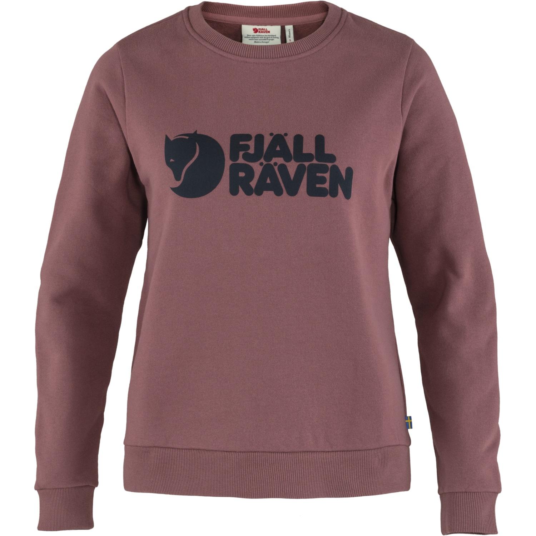 Fjällräven Logo Sweater Pullover - mesa purple