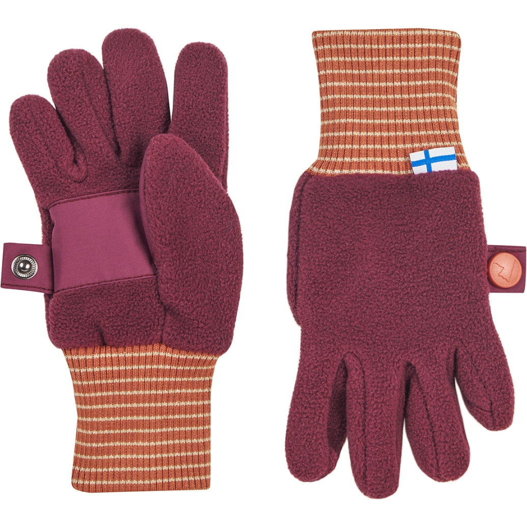 Picture of Finkid SORMIKAS Kids Winter Gloves - beet red/chili