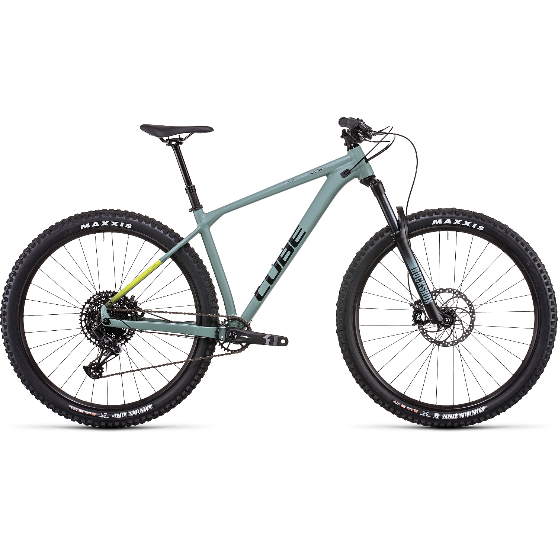 CUBE REACTION TM - 29 Pulgadas Bicicleta de Montaña - 2022 - olive/lime A00