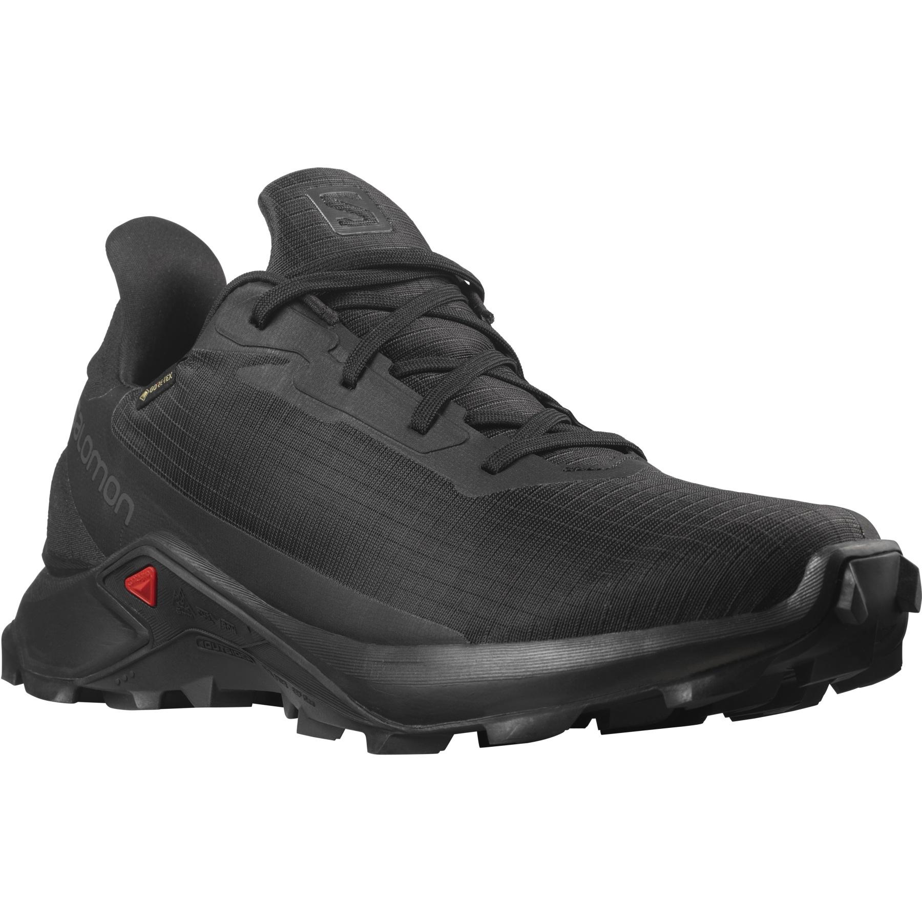 Produktbild von Salomon Alphacross 3 Gore-Tex Trail Laufschuhe - black/black/black