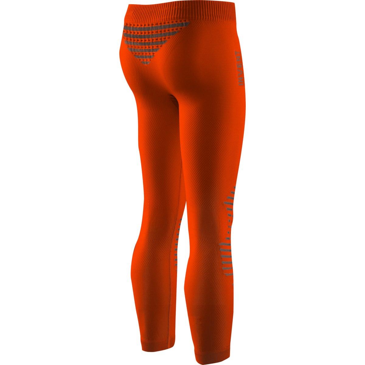 Bild von X-Bionic Invent 4.0 Lange Unterhose für Kinder - sunset orange/anthracite