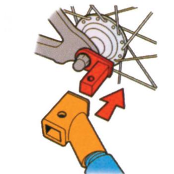 Bild von XLC Ersatz-Achskupplung für Duo / Mono / Carry / Doggy Fahrradanhänger