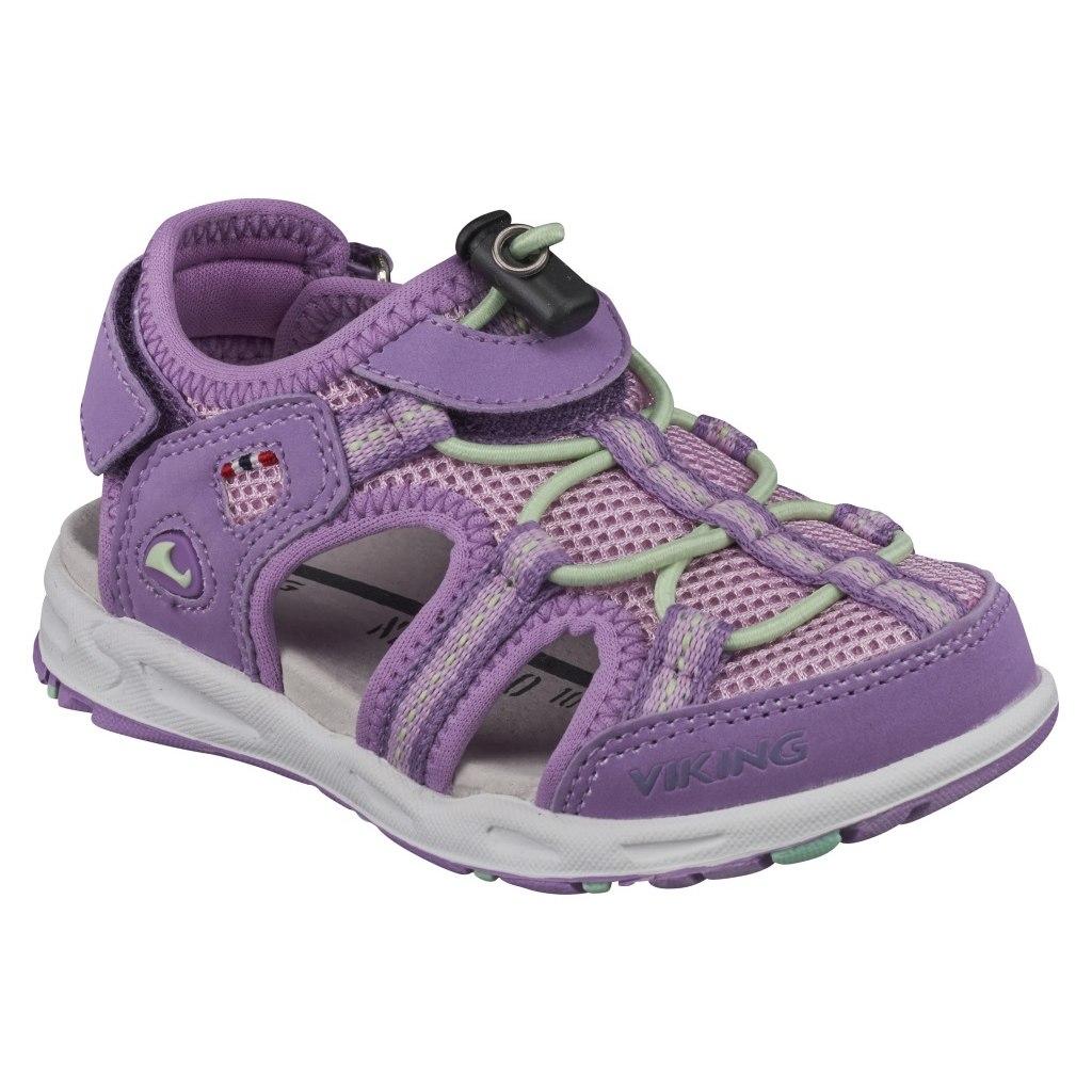 Viking Thrill Kinder-Sandale - violet/mint 2154
