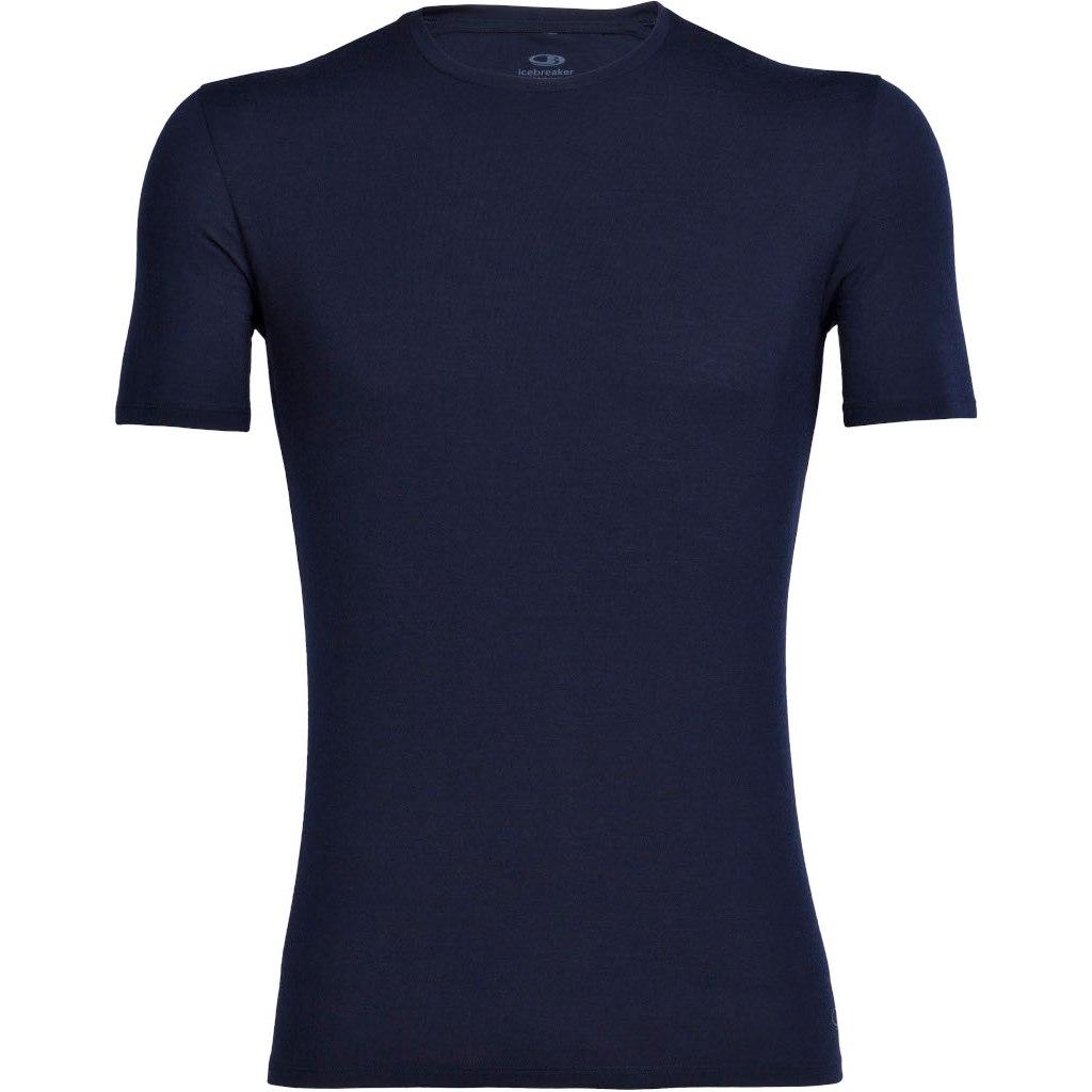 Icebreaker Anatomica Crewe Herren T-Shirt - Midnight Navy