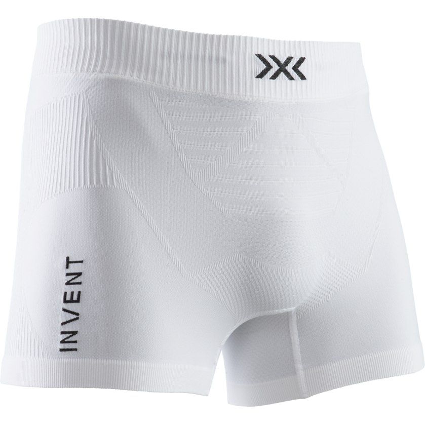 X-Bionic Invent 4.0 LT Calzoncillos para hombres - arctic white/opal black