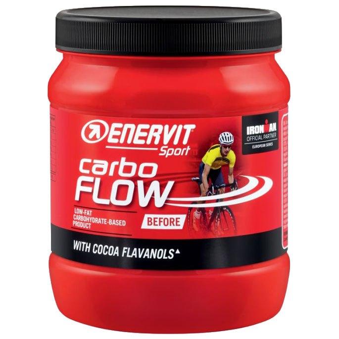 Enervit Carbo Flow - Low-Fat Carbohydrate Beverage Powder - 400g