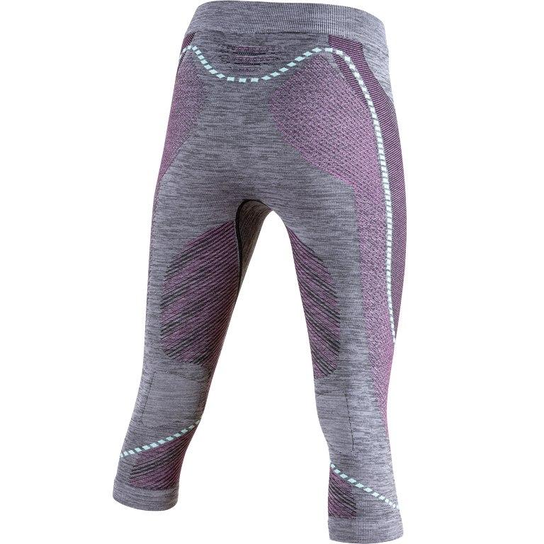 Image of UYN Ambityon Underwear 3/4 Pants Women - Black Melange/Pink/Aqua
