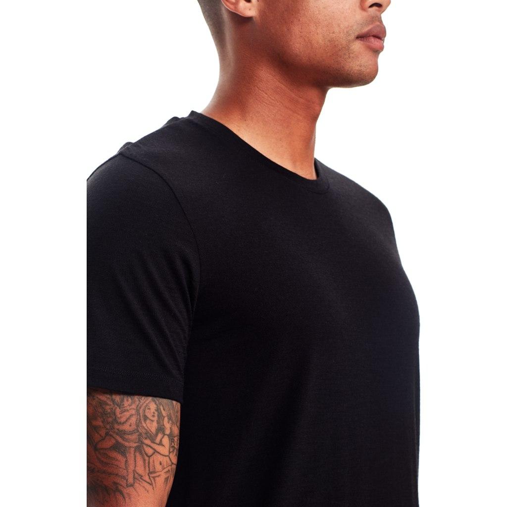 Bild von Icebreaker Tech Lite Crewe Herren T-Shirt - Black