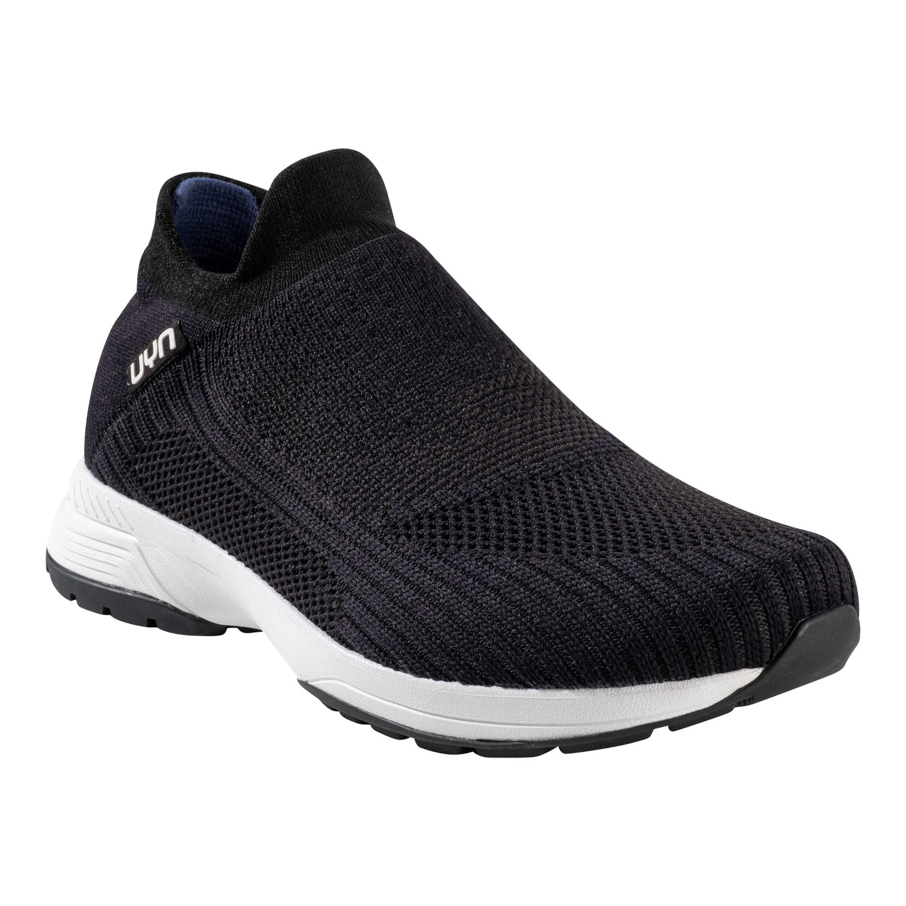 UYN Free Flow Grade Man Running Shoes - Black/Carbon