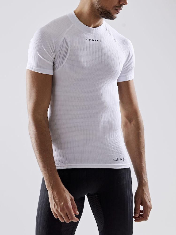 Image of CRAFT Active Extreme X Crewe Neck Men's T-Shirt 1909678 - 900000 White