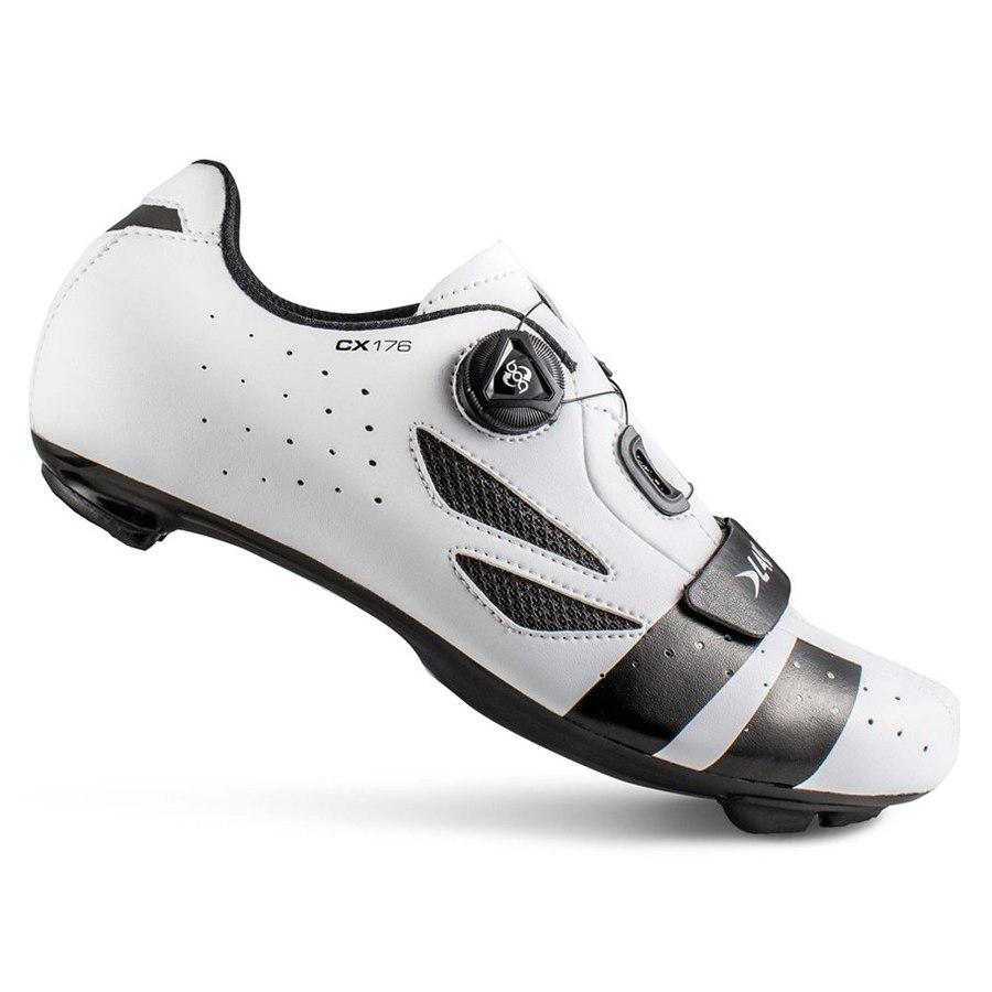 Lake CX176 Rennradschuh - weiß / schwarz
