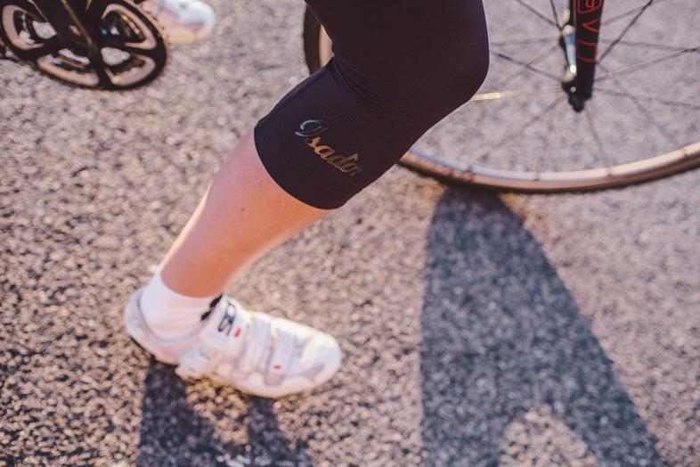 Image of Isadore Ladies 3/4 Shorts - Black