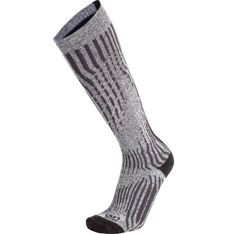 UYN Ski Cashmere Shiny Socken - celebrity silver
