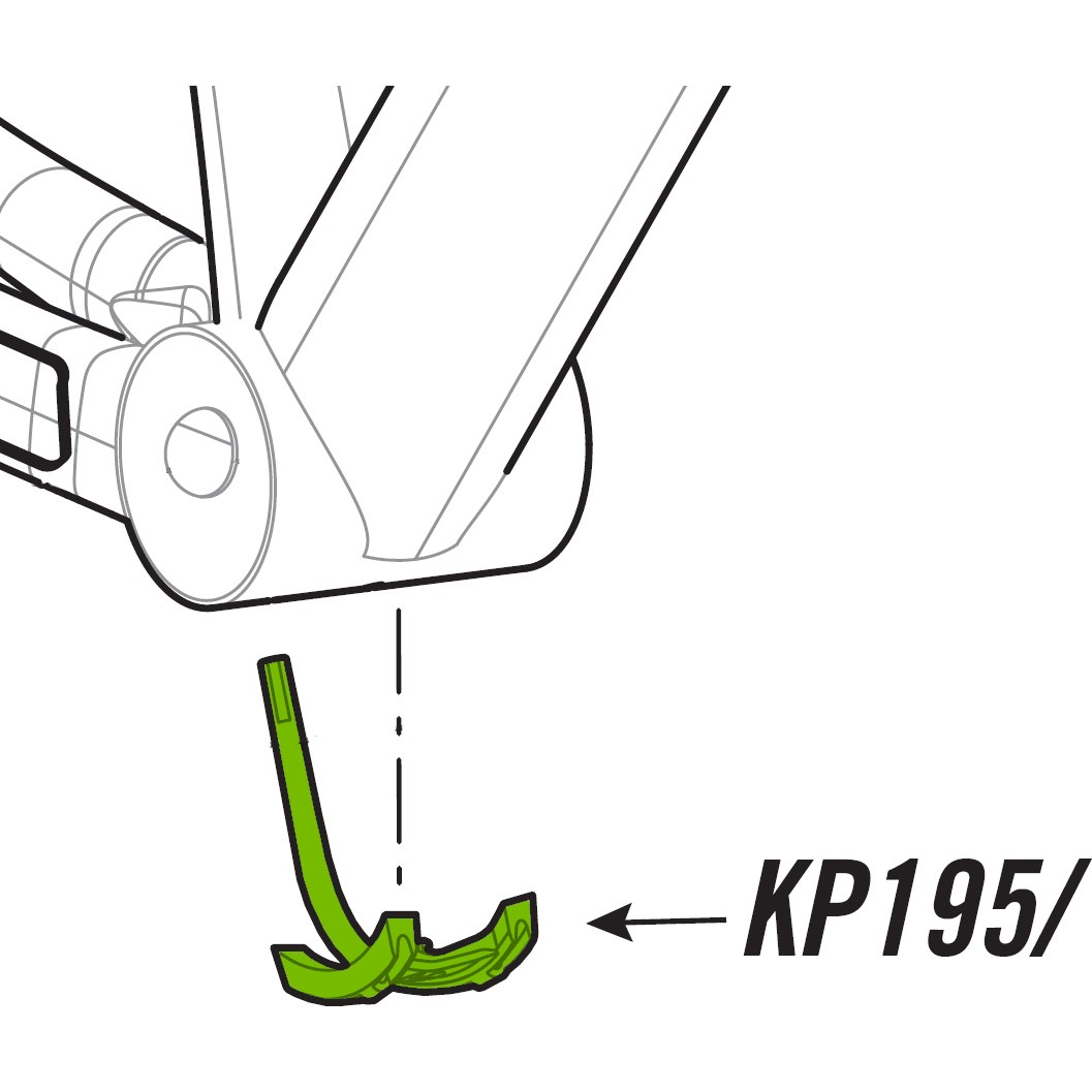 Cannondale KP195/ BB Cableguide for SuperSix Evo