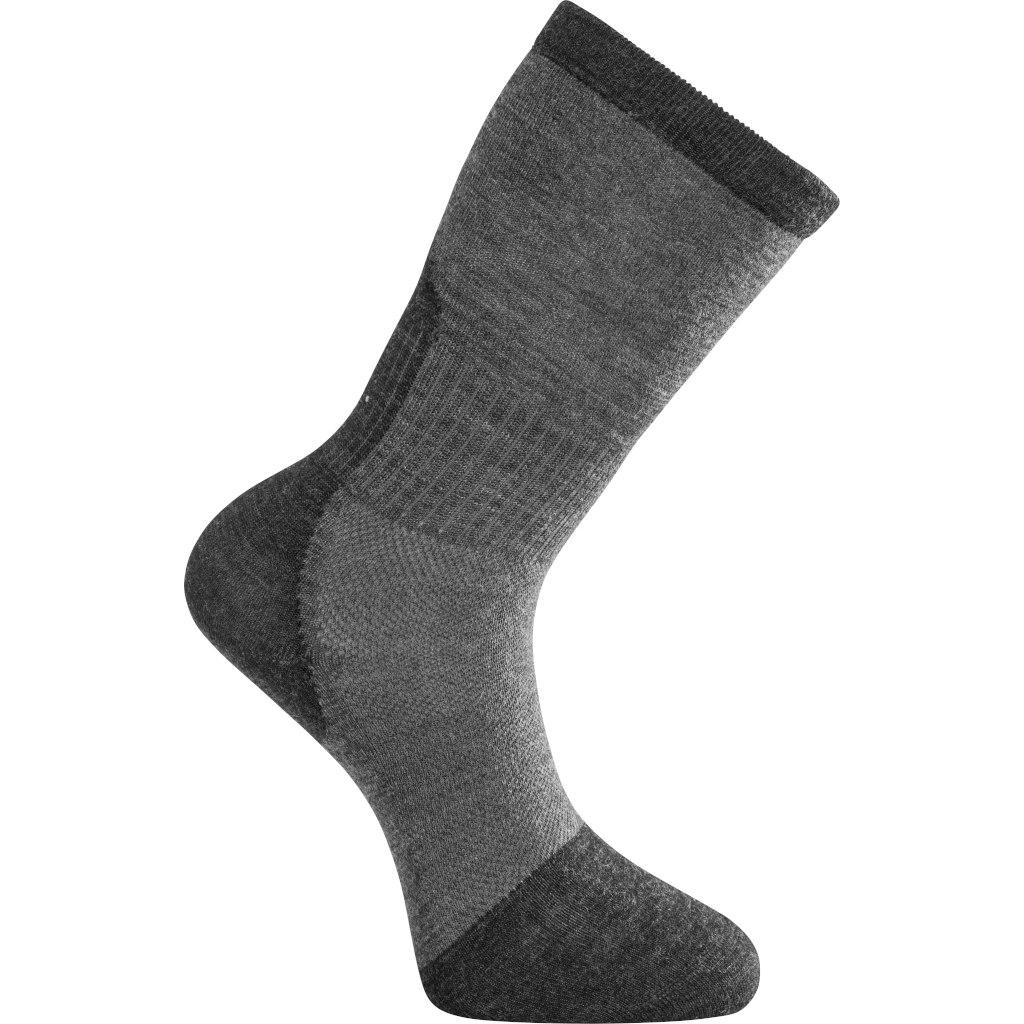 Woolpower Skilled Liner Classic Unisex Socks - dark grey/grey