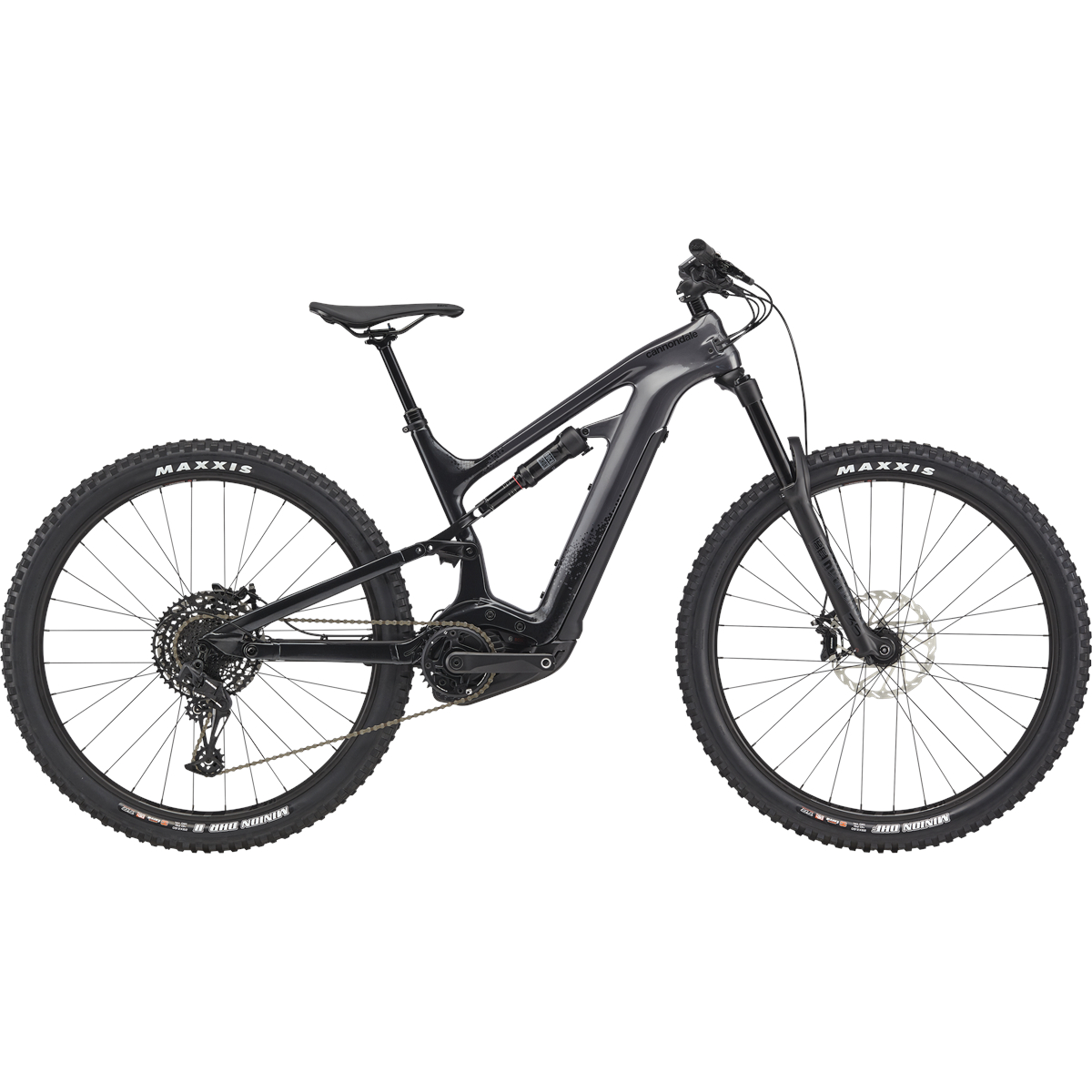 "Cannondale MOTERRA NEO Carbon 3+ - 27.5/29"" MTB E-Bike - 2021 - Matte Black"