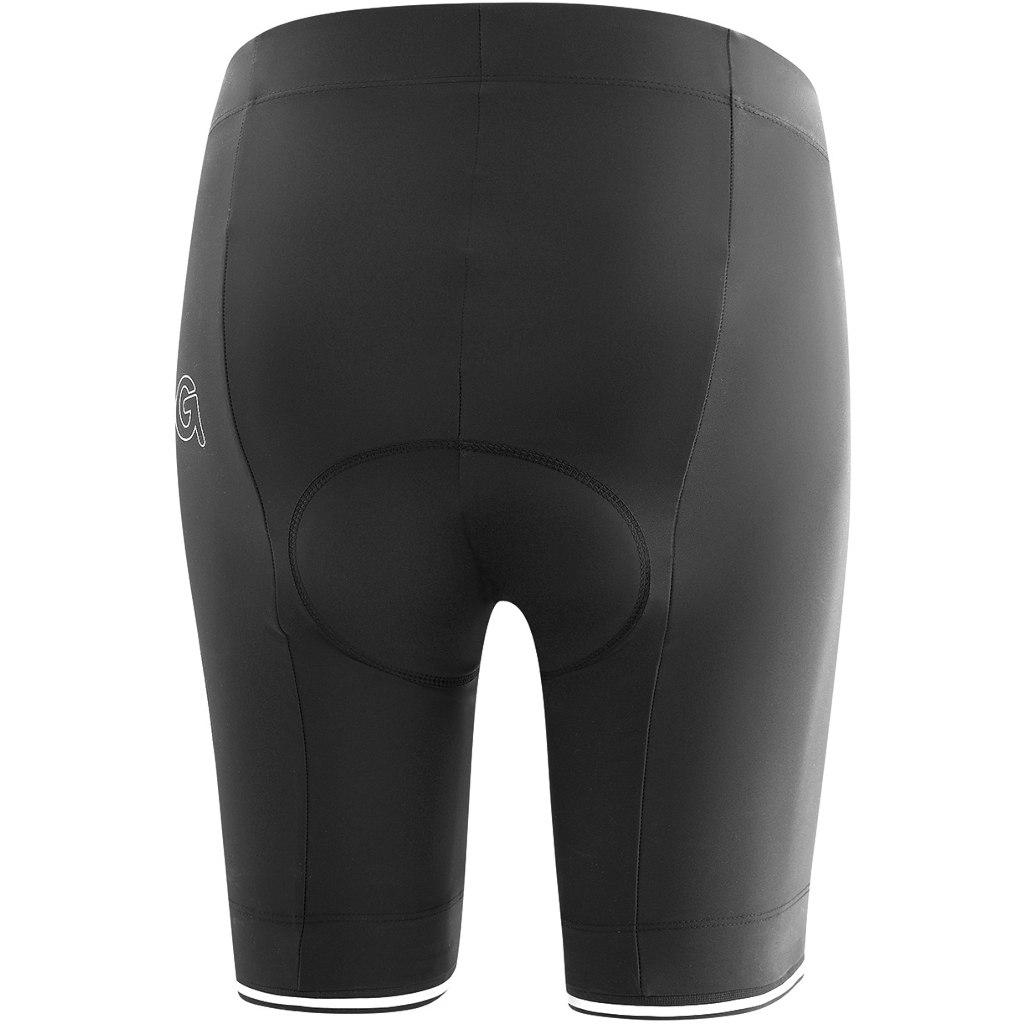 Image of Gonso SITIVO Green Women's Bike Shorts - Black