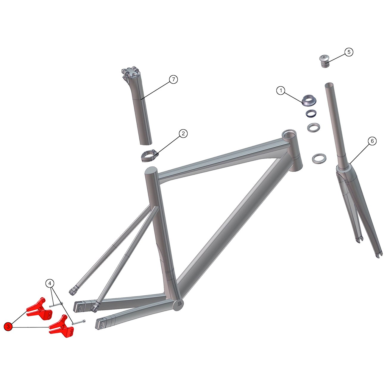 BMC Dropout #43 for Trackmachine 02 as from 2014 - 213701