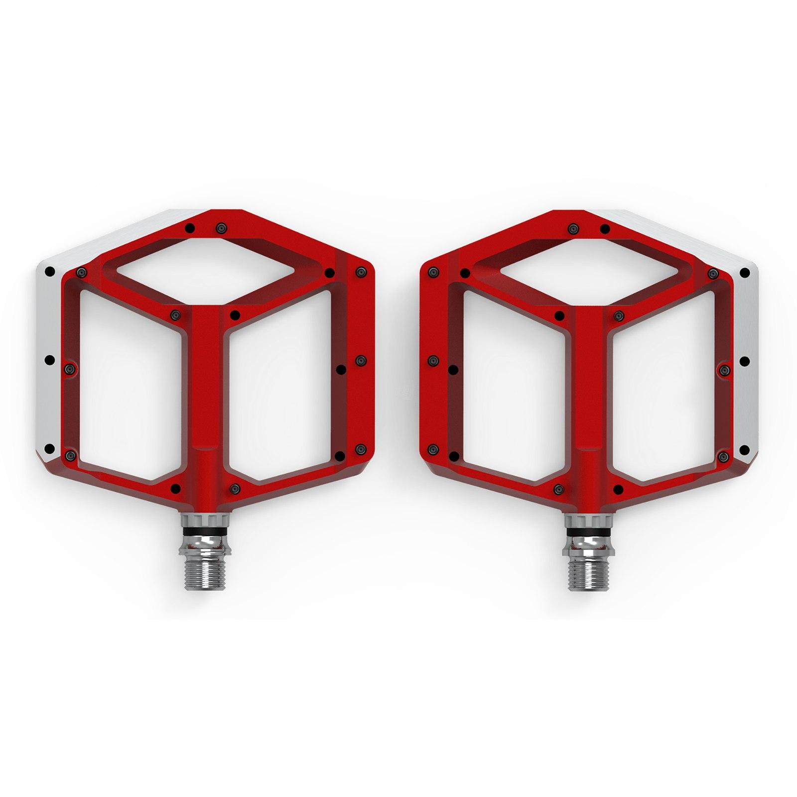 CUBE ACID Pedals FLAT A1-CB - red
