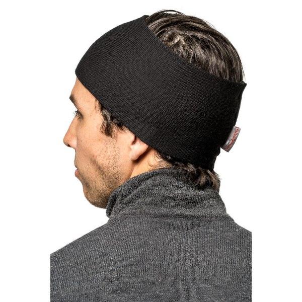 Image of Woolpower Headband 200 - black