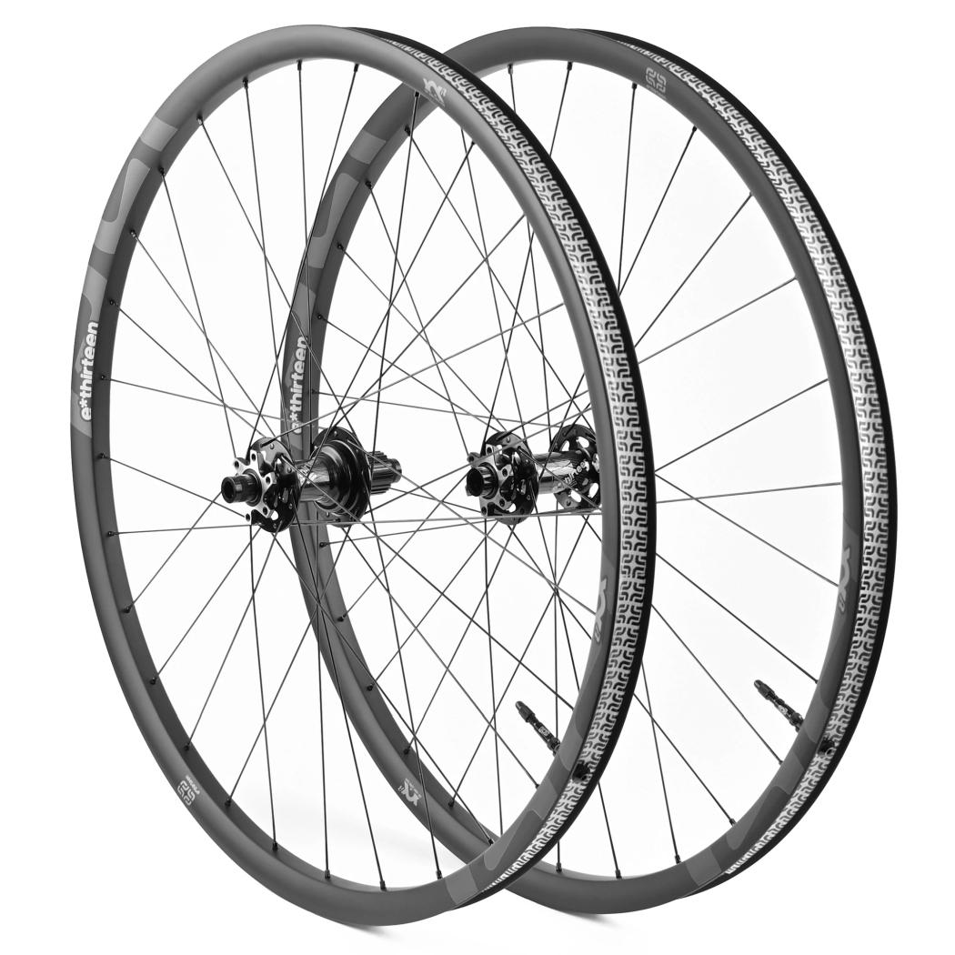e*thirteen XCX MTN Race Carbon 29 Inch Wheelset - 6-Bolt - 28mm - FW: 15x110mm Boost | RW: 12x148mm Boost - Shimano MicroSpline