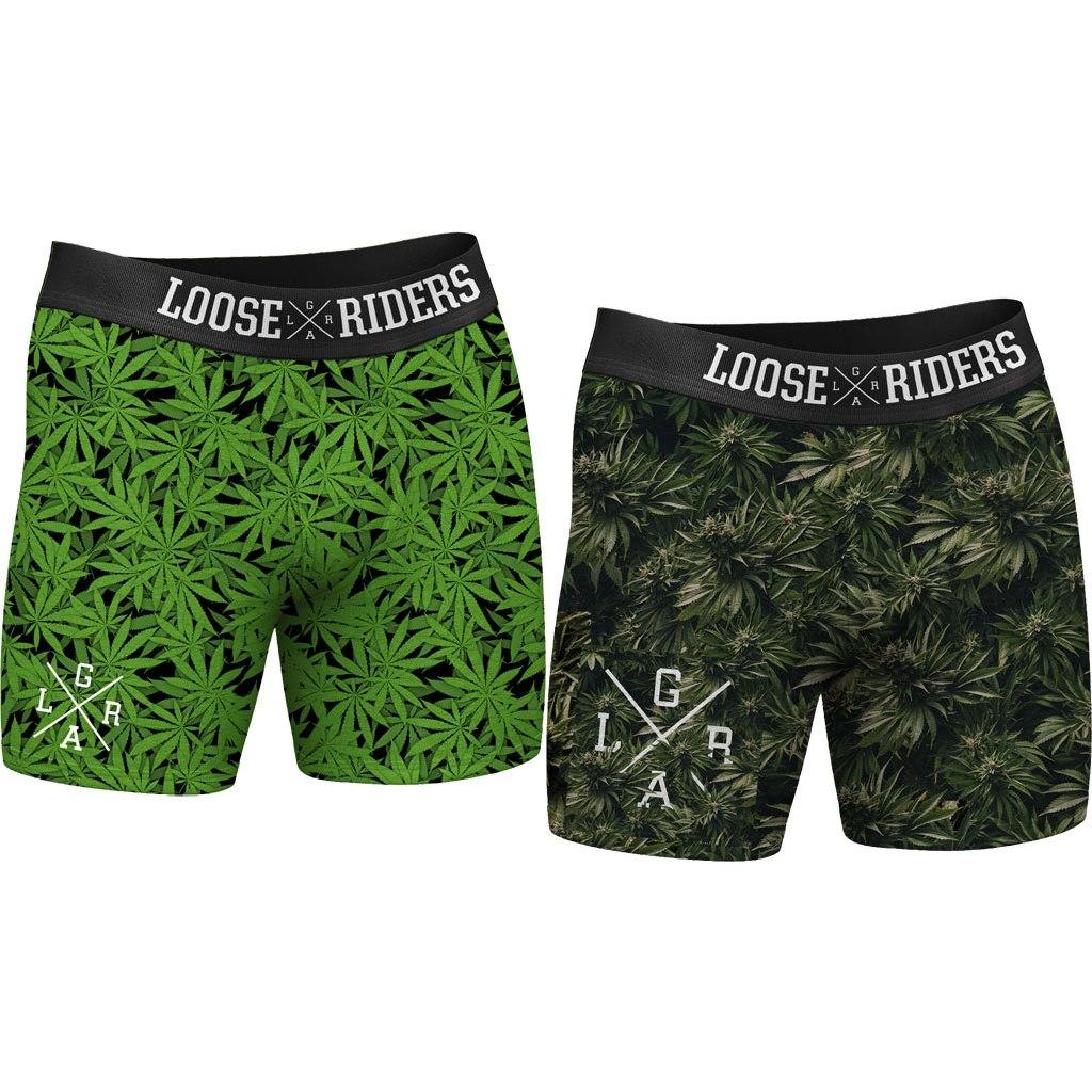 Bild von Loose Riders Boxer Shorts - 2er Pack - 420 Ganja
