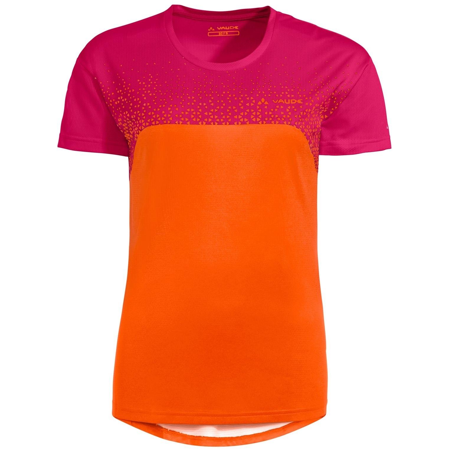 Vaude Moab VI Damen T-Shirt MTB - tangerine