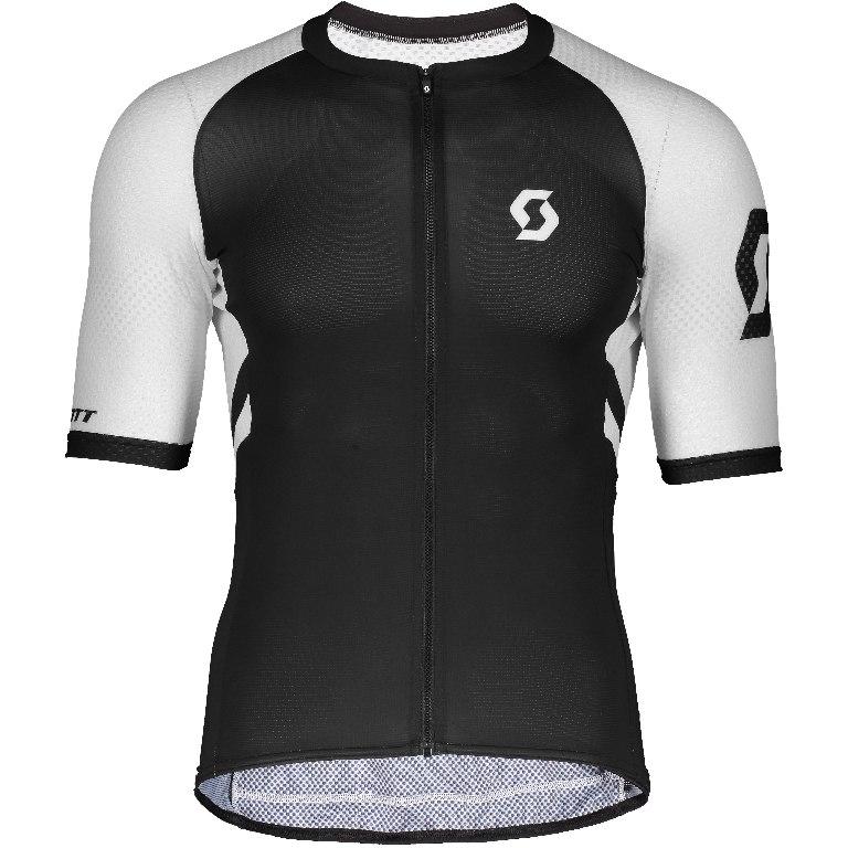 SCOTT RC Premium Climber Short Sleeve Shirt - black/white