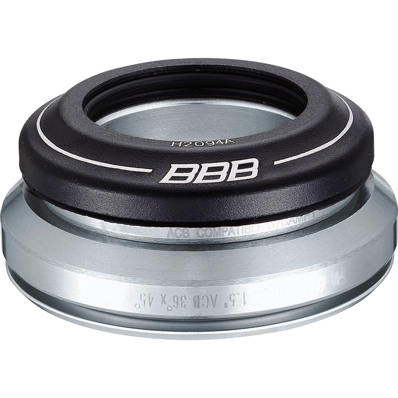Image of BBB Cycling Tapered BHP-46 Headset Ahead CrMo - tapered - IS42/28,6   IS52/40