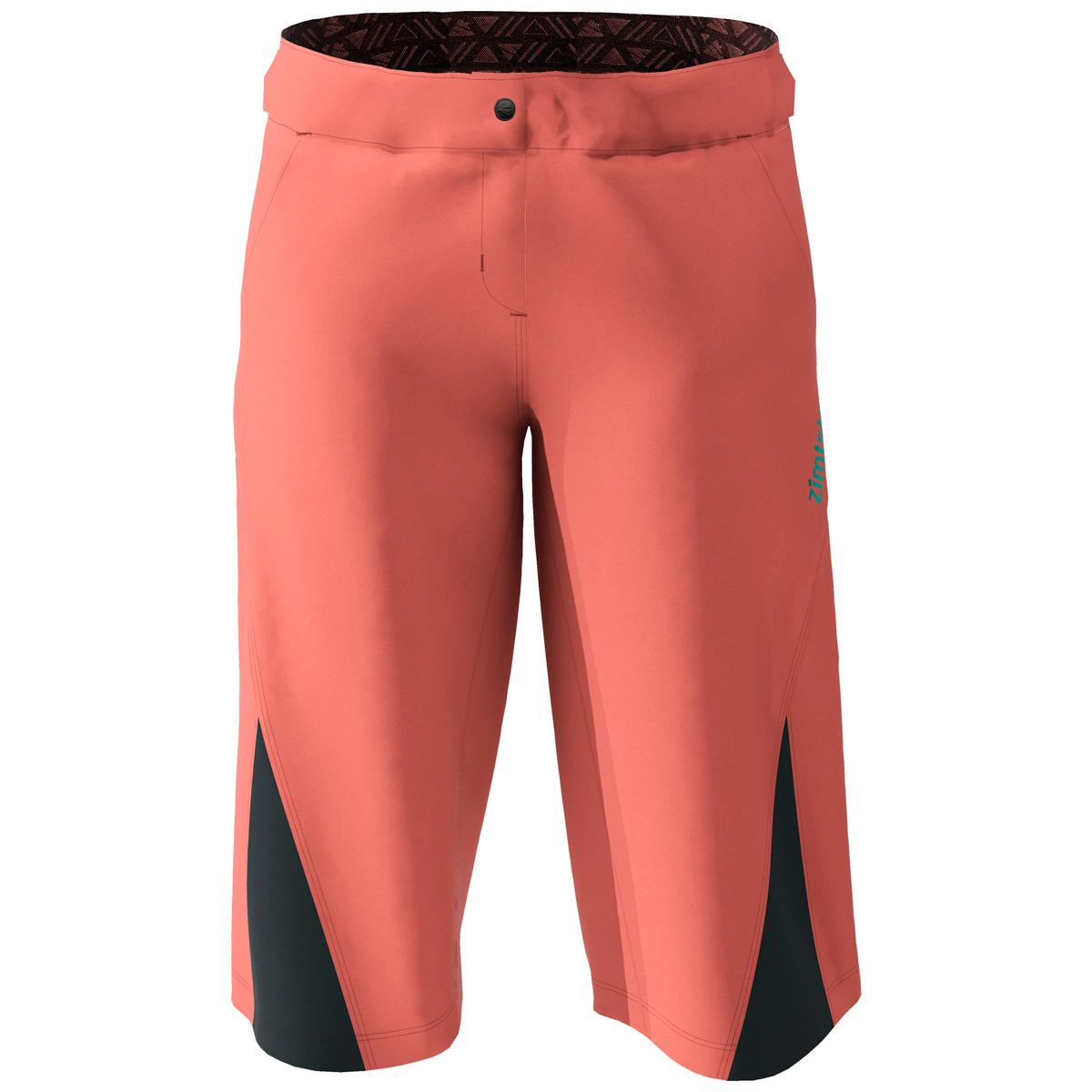 Zimtstern StarFlowz MTB-Shorts für Damen - living coral