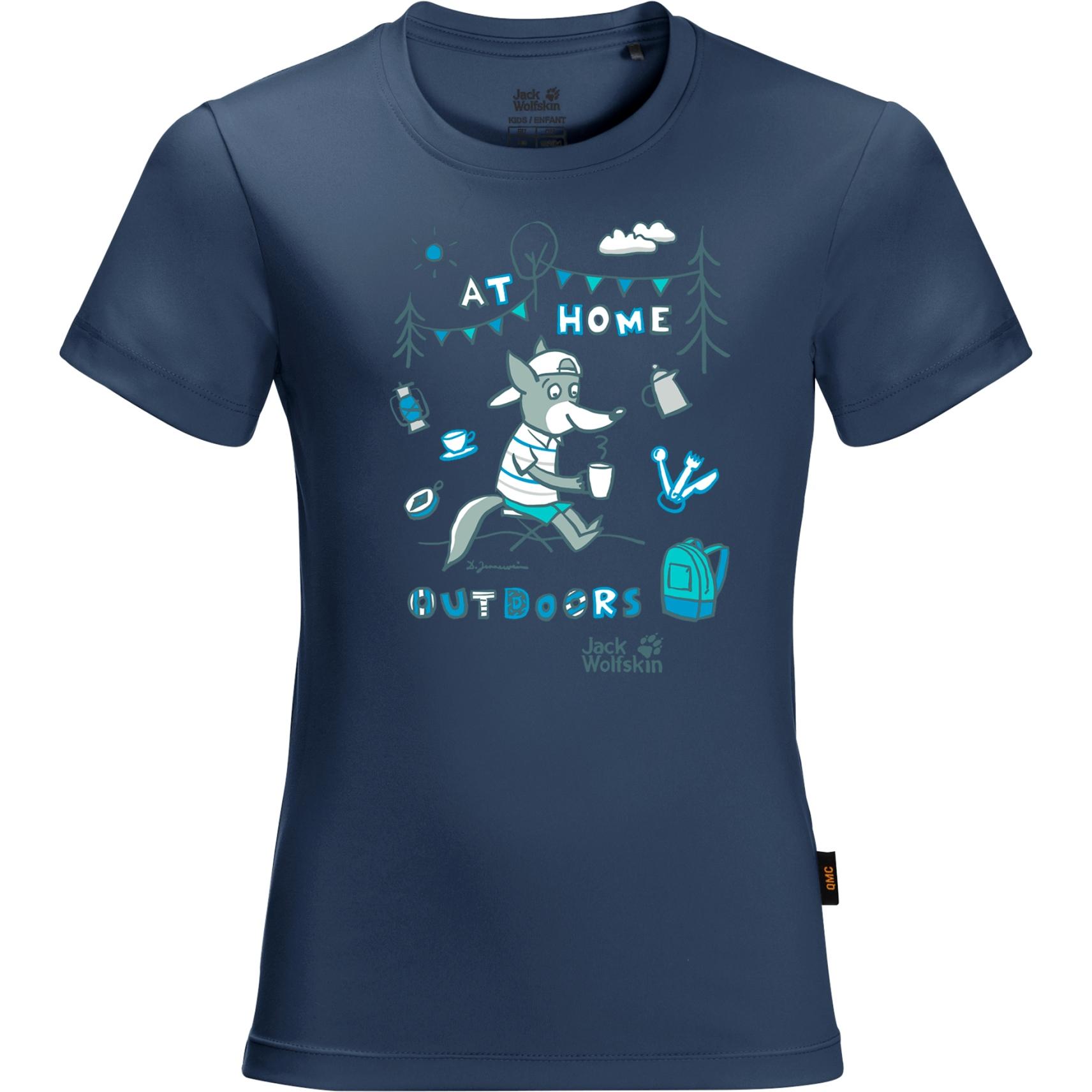 Jack Wolfskin Happy Camper Kinder T-Shirt - dark indigo