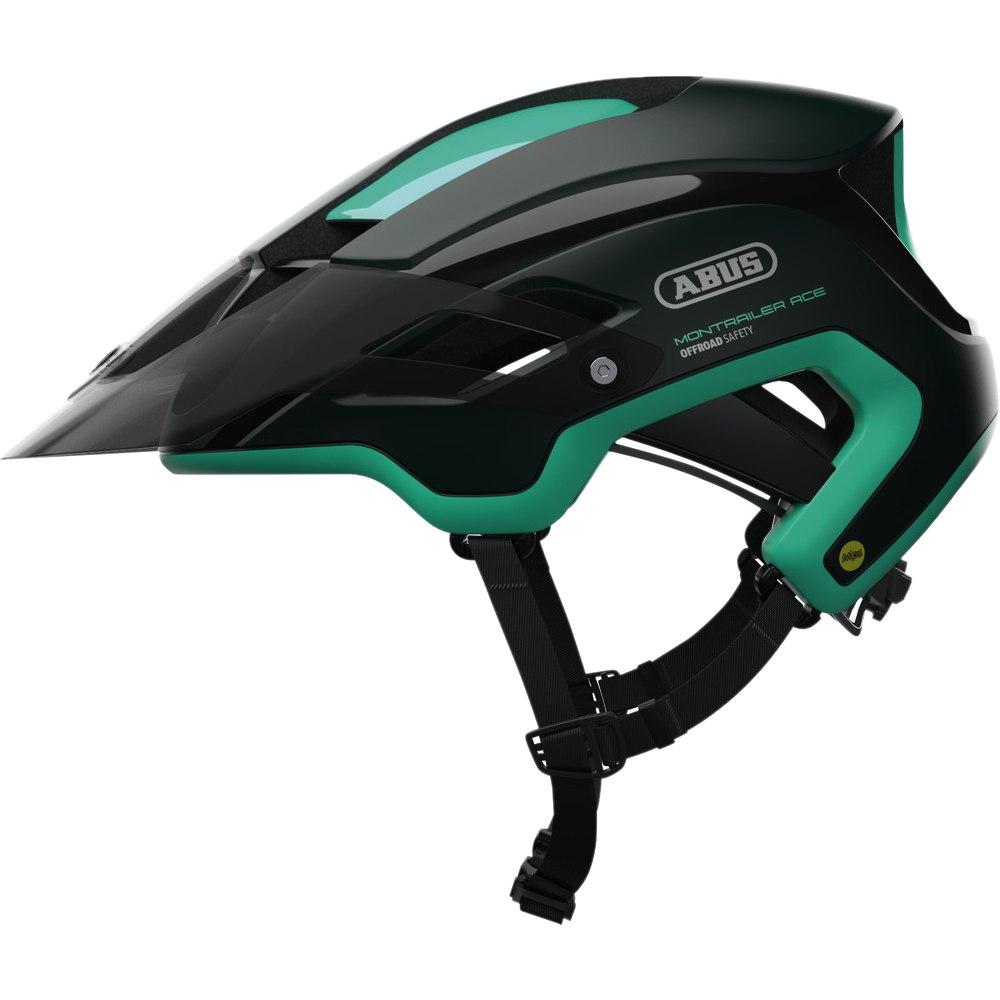 ABUS MonTrailer ACE Mips Casco - smaragd green