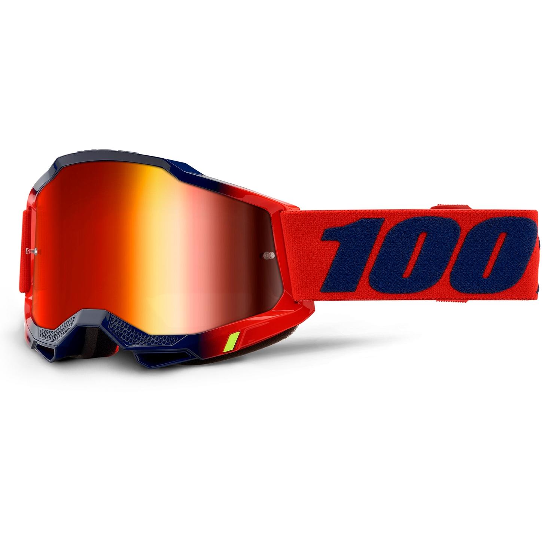 100% Accuri 2 Goggle Mirror Lens Gafas - Kearny